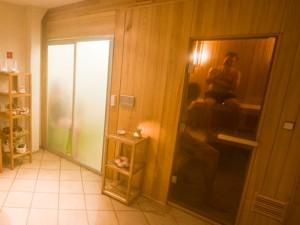 Sauna og dampbad